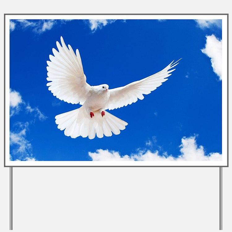 Purity Dove Yard Sign