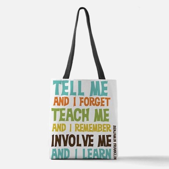 Involve Me Polyester Tote Bag