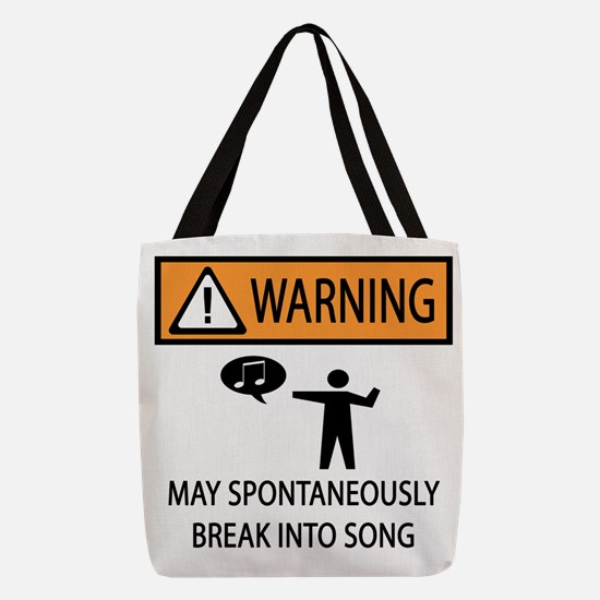songs Polyester Tote Bag