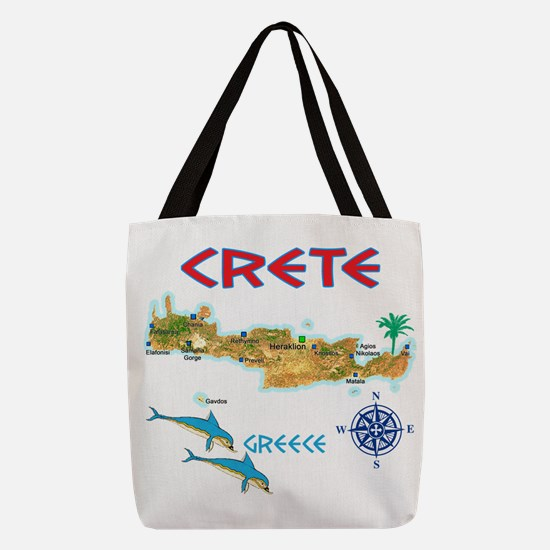 crete_t_Shirt_maP Polyester Tote Bag