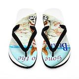 Beach dog Flip Flops