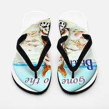 Corgi Beach Flip Flops