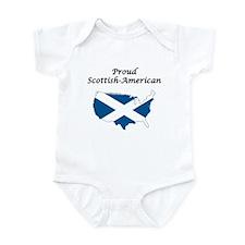 Cute Flag scotland Infant Bodysuit