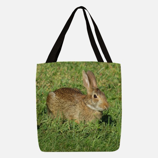 bunny rabbit Polyester Tote Bag
