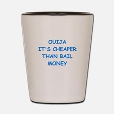 ouija Shot Glass