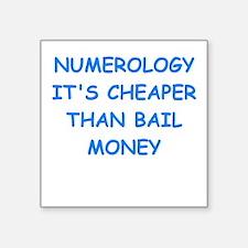 numerology Sticker