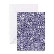 Blue Lace Greeting Cards
