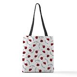 Ladybug Polyester Tote Bag