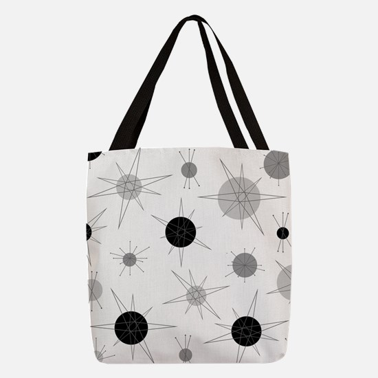 Cute Retro Polyester Tote Bag