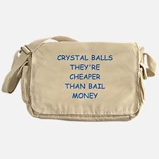 crystal ball Messenger Bag