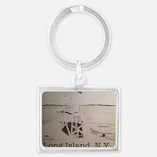 Long Island, N.Y. Landscape Keychain