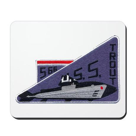 USS TROUT Mousepad
