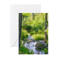 Down by the Creek Greeting Cards