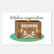 Kitchen Inspiration Postcards (Package of 8)