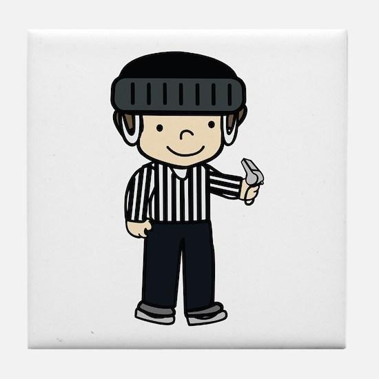 Hockey Girls Tile Coaster