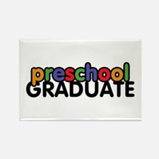 Preschool Graduate Rectangle Magnet