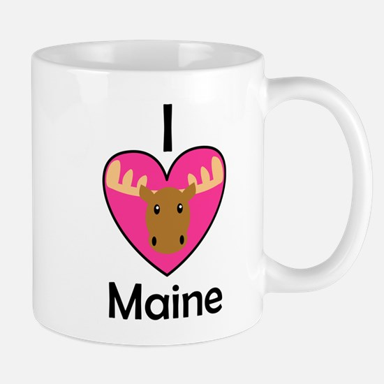 I Love Maine Mug