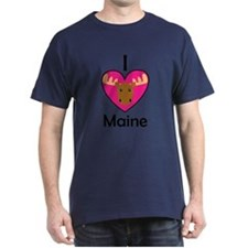 I Love Maine T-Shirt