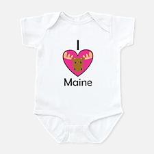 I Love Maine Infant Bodysuit
