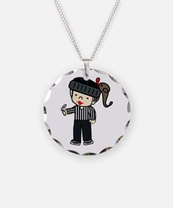 Referee Girl Necklace