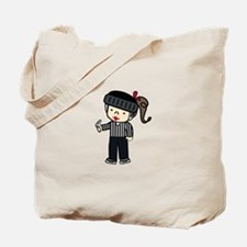 Referee Girl Tote Bag