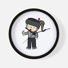 Referee Girl Wall Clock