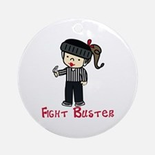 Fight Buster Ornament (Round)