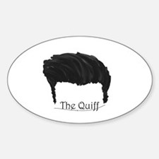 The Quiff Decal