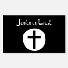 Jesus is Lord (Jihad Style) Decal