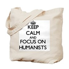 Funny Humanist Tote Bag