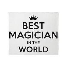 Unique Magician Throw Blanket