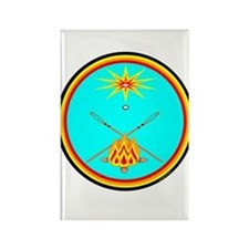 MUSCOGEE CREEK NATION Rectangle Magnet