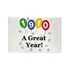 1910 A Great Year Rectangle Magnet