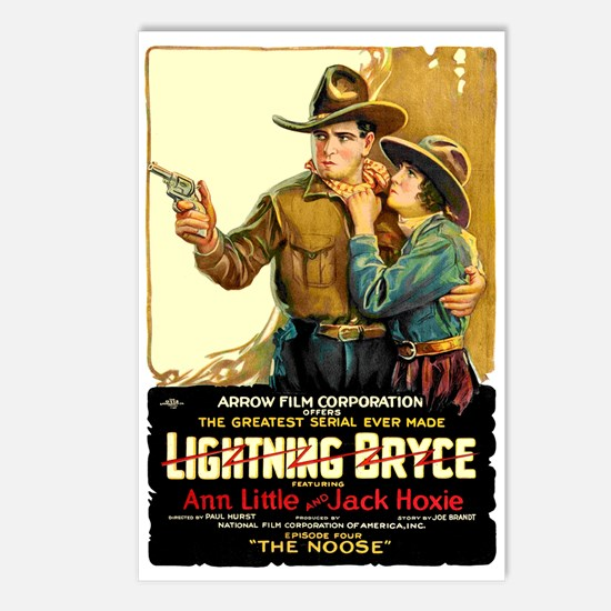 Lightning Bryce 1919 Postcards (package Of 8)