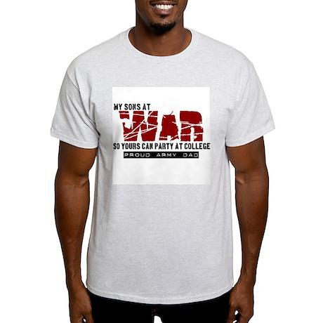 Son's at war Light T-Shirt
