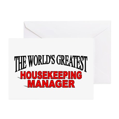 """""""The World's Greatest Housekeeping Manager"""" Greeti"""
