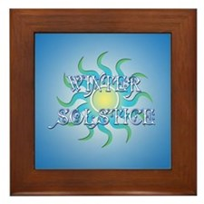 Winter Solstice Framed Tile