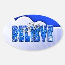 Believe Glitter Decal