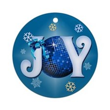 Holiday Joy Ornament (Round)