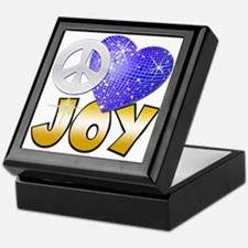 Peace Love Joy Keepsake Box