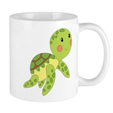Baby Floating Turtle Mugs