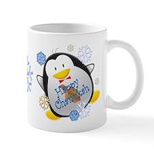 Penguin Chanukah Mug