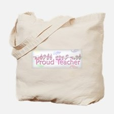 Proud Teacher Tote Bag