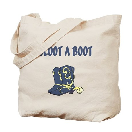 Scoot A Boot Tote Bag