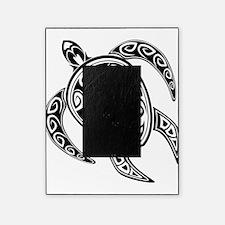 Black Hawaiian Turtle-2 Picture Frame