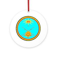 MUSCOGEE CREEK NATION Ornament (Round)