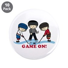 "Game On 3.5"" Button (10 pack)"