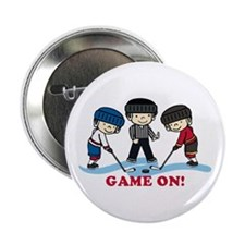 """Game On 2.25"""" Button"""