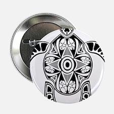 "Black Hawaiian Turtle-4 2.25"" Button (10 pack)"