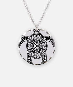 Black Hawaiian Turtle-4 Necklace